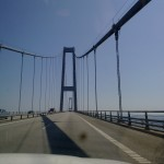 En av broarna i Danmark