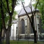 Vacker gammal kyrka
